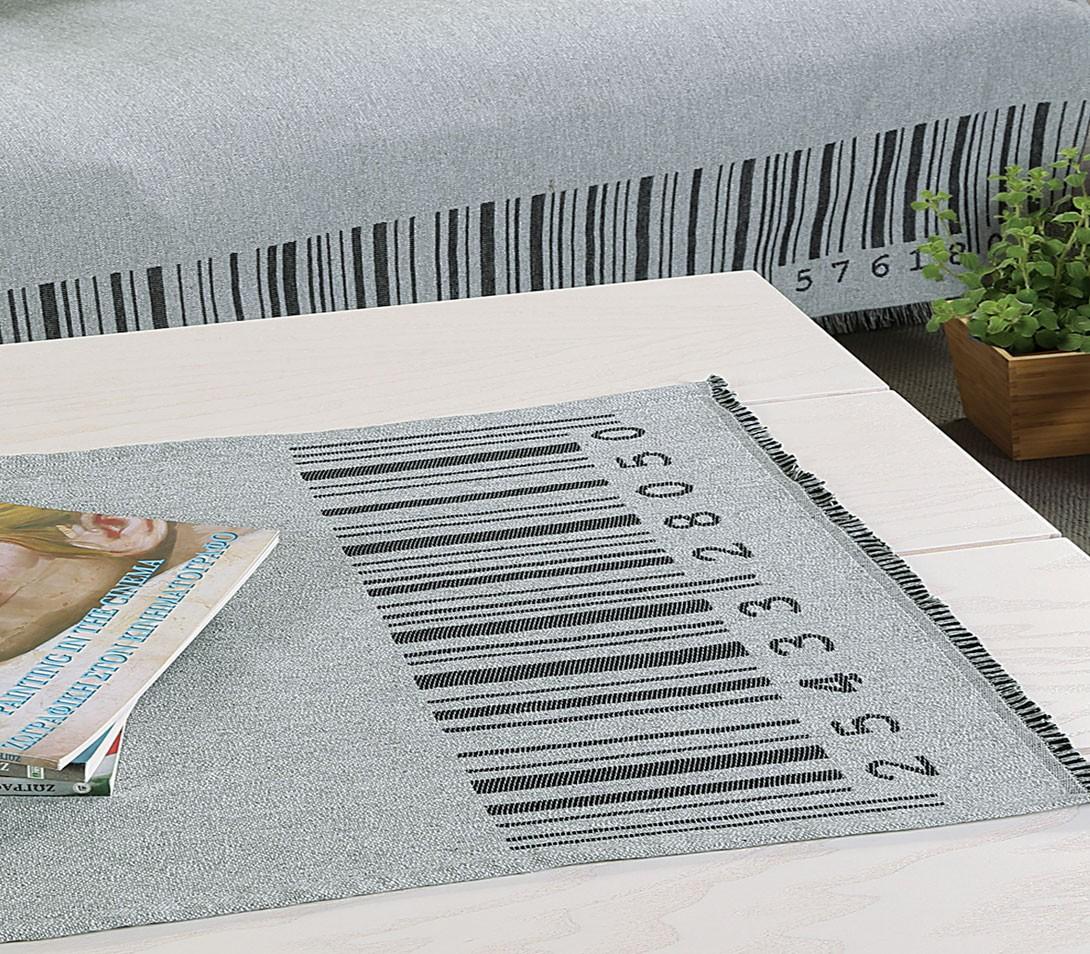 Τραβέρσα Διακόσμησης Nef-Nef Living Barcode Grey