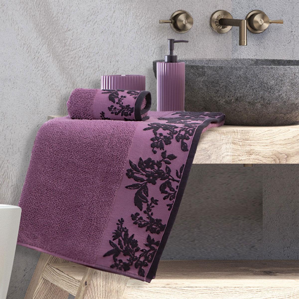 Πετσέτα Χεριών (30×50) Nef-Nef Salvia Mauve