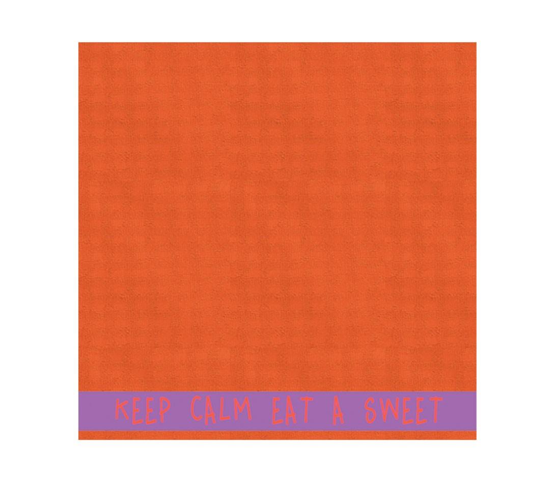 Πετσέτα Κουζίνας Nef-Nef Kitchen Rules Terry Orange