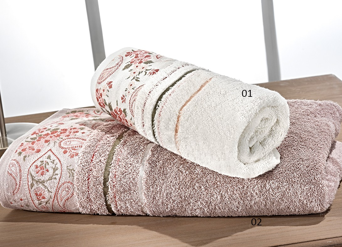 Πετσέτες Μπάνιου (Σετ 2τμχ) Nima Le Bain Latife