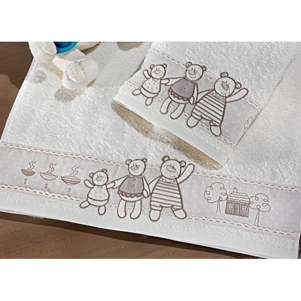 Παιδικές Πετσέτες Προσώπου (Σετ 2τμχ) Nima Favola Baloo