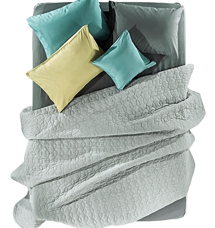Κουβερλί Υπέρδιπλο Nima Layers Mirador Grey