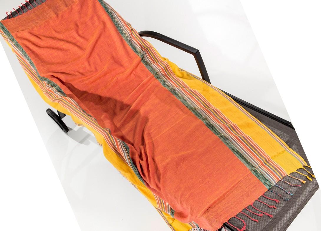 Πετσέτα Θαλάσσης - Παρεό Nima Mahabali 05 Orange