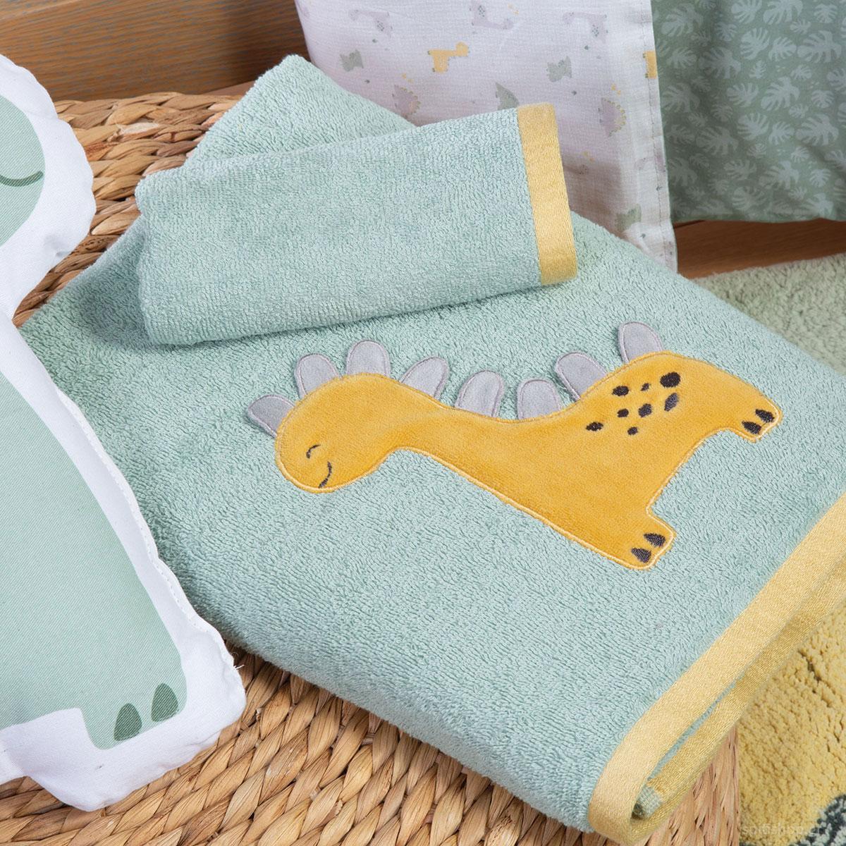 Παιδικές Πετσέτες (Σετ 2τμχ) Nef-Nef Dino