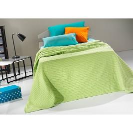 Κουβέρτα Πικέ Υπέρδιπλη Nima Habit Parrot Green