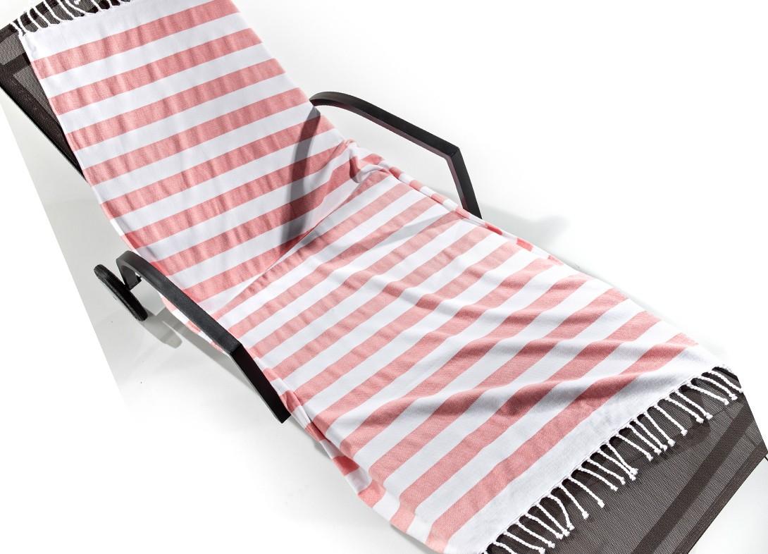Πετσέτα Θαλάσσης - Παρεό Nima Barbados Rayo 01 Pink