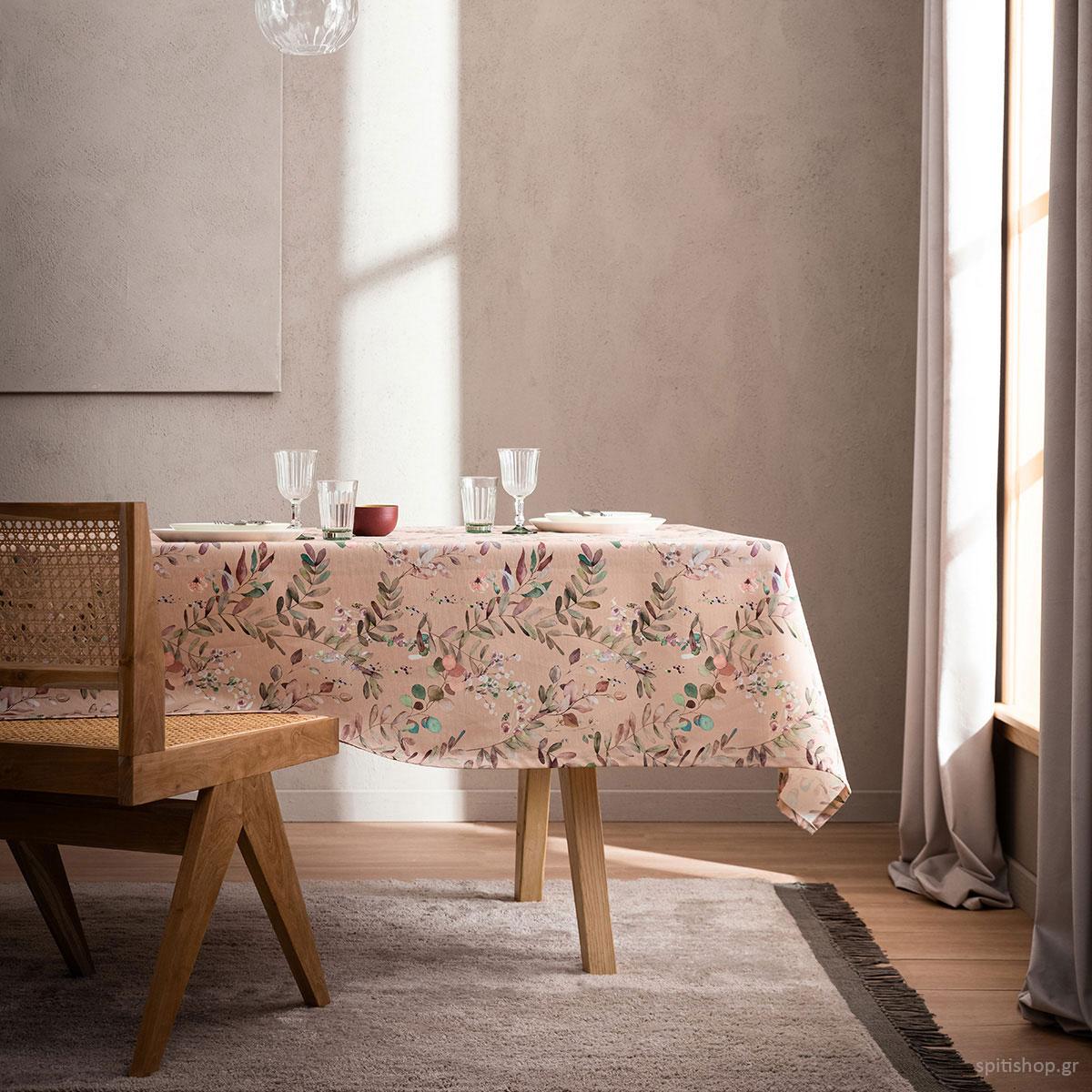 Τραπεζομάντηλο (135×220) Gofis Home Romance 945