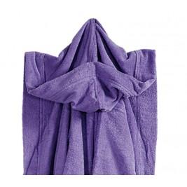 Μπουρνούζι Γυμναστηρίου Με Κουκούλα Nef-Nef Gym Purple