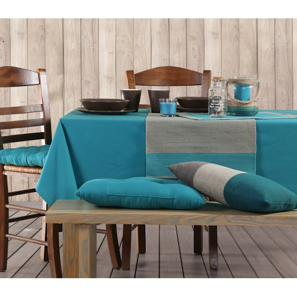 Τραπεζομάντηλο (140x140) Nef-Nef Kitchen Solid Tropical Blue
