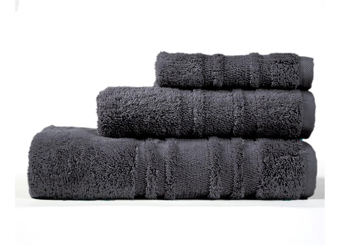 Πετσέτα Προσώπου (50x100) Nef-Nef Supreme Anthracite