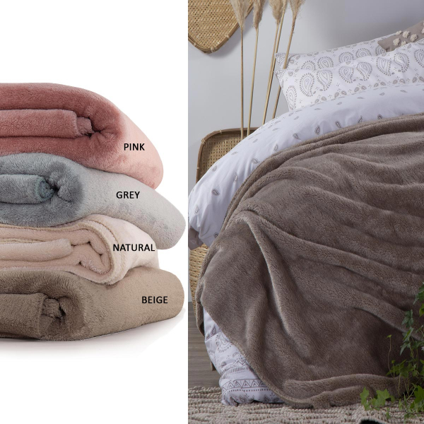 Κουβέρτα Fleece Μονή Nef-Nef Nasty