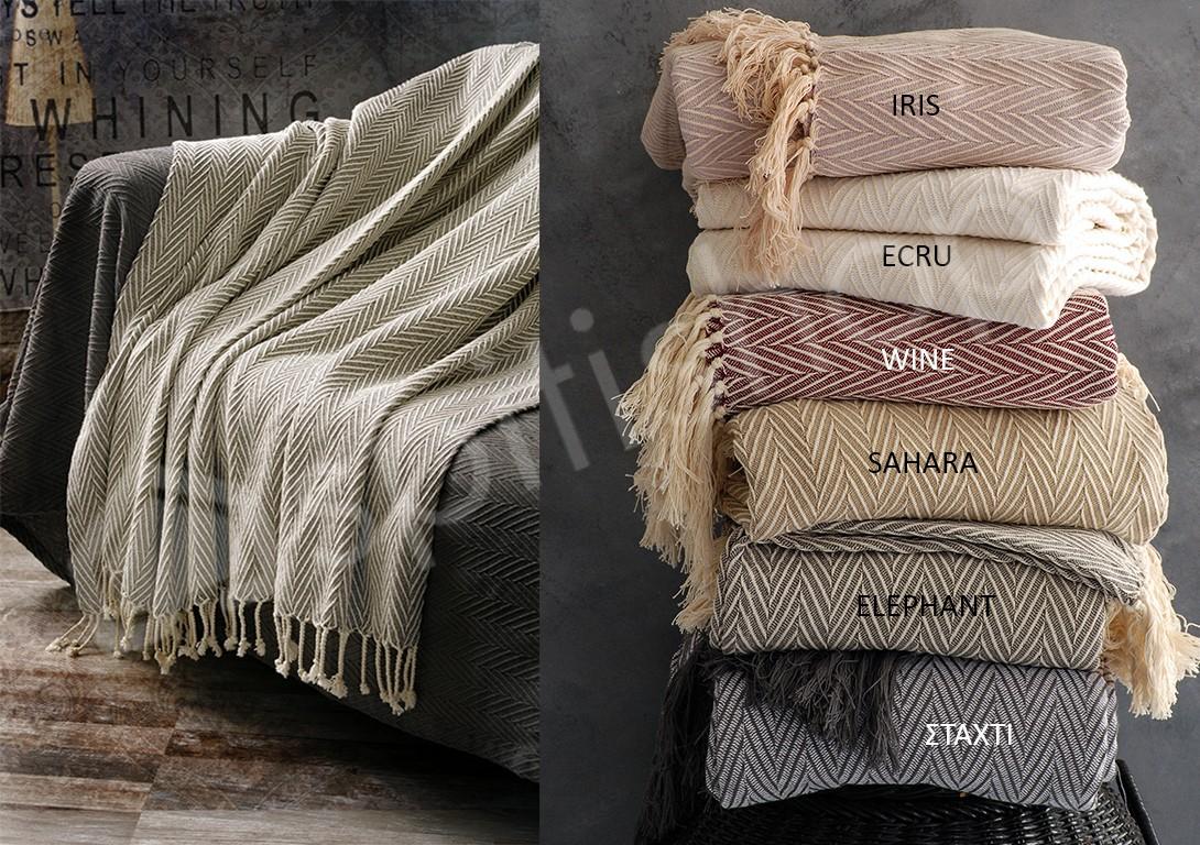 Ριχτάρι Τριθέσιου (180×280) Rythmos Caprice Sofa