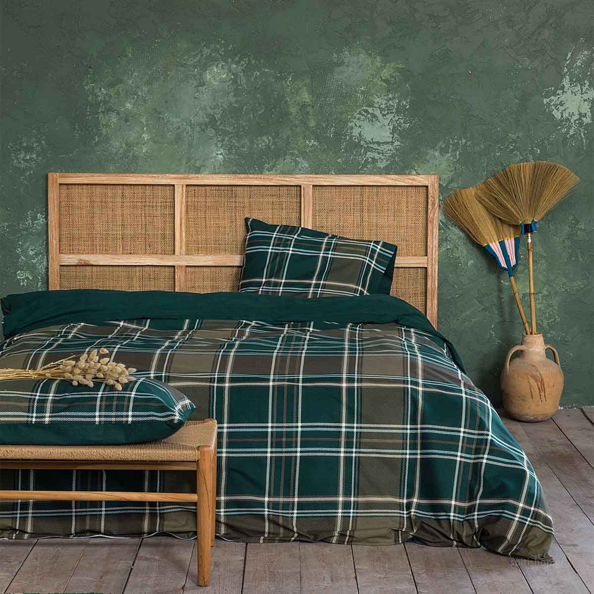 Πάπλωμα Υπέρδιπλο Nima Bed Linen Duncan Natural
