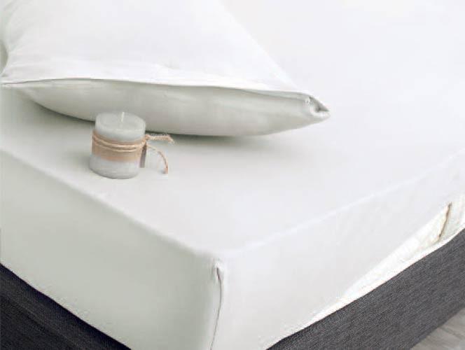 Κάλυμμα Στρώματος Μονό (Σετ) Rythmos Essential Λευκό