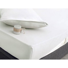 Κάλυμμα Στρώματος Υπέρδιπλο (Σετ) Rythmos Essential Λευκό
