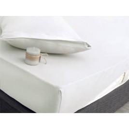 Κάλυμμα Στρώματος King Size (Σετ) Rythmos Essential Λευκό