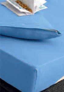 Κάλυμμα Στρώματος Μονό (Σετ) Rythmos Essential Σιέλ