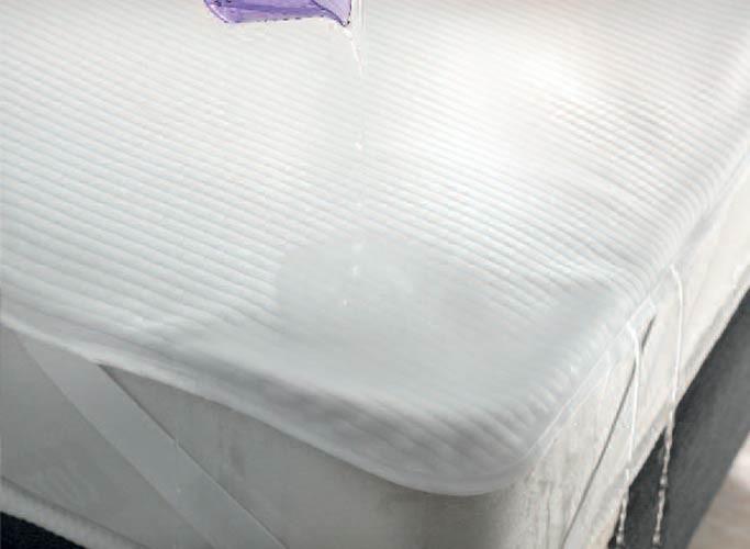 Κάλυμμα Στρώματος Υπέρδιπλο Αδιάβροχο Rythmos Με Λάστιχα