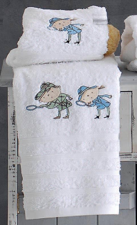 Παιδικές Πετσέτες (Σετ 2τμχ) Rythmos Detective Ciel