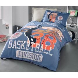 Παπλωματοθήκη Μονή (Σετ) Rythmos Basketball