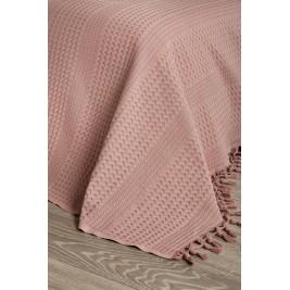 Κουβέρτα Πικέ Ημίδιπλη White Egg Lace ΚΠ1Θ