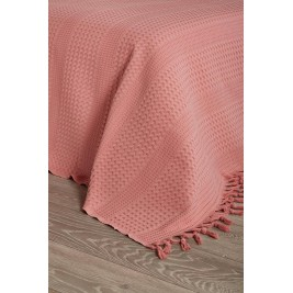 Κουβέρτα Πικέ Ημίδιπλη White Egg Lace ΚΠ1Ι