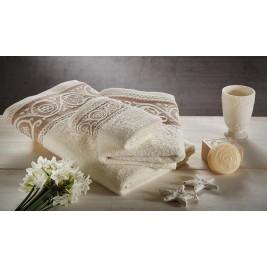 Πετσέτες Μπάνιου (Σετ 3τμχ) White Egg Ισμήνη 2