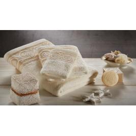 Πετσέτες Μπάνιου (Σετ 3τμχ) White Egg Ισμήνη 4