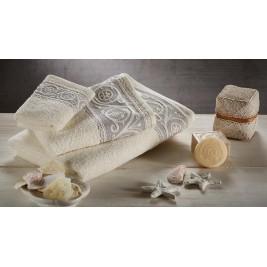 Πετσέτες Μπάνιου (Σετ 3τμχ) White Egg Ισμήνη 1
