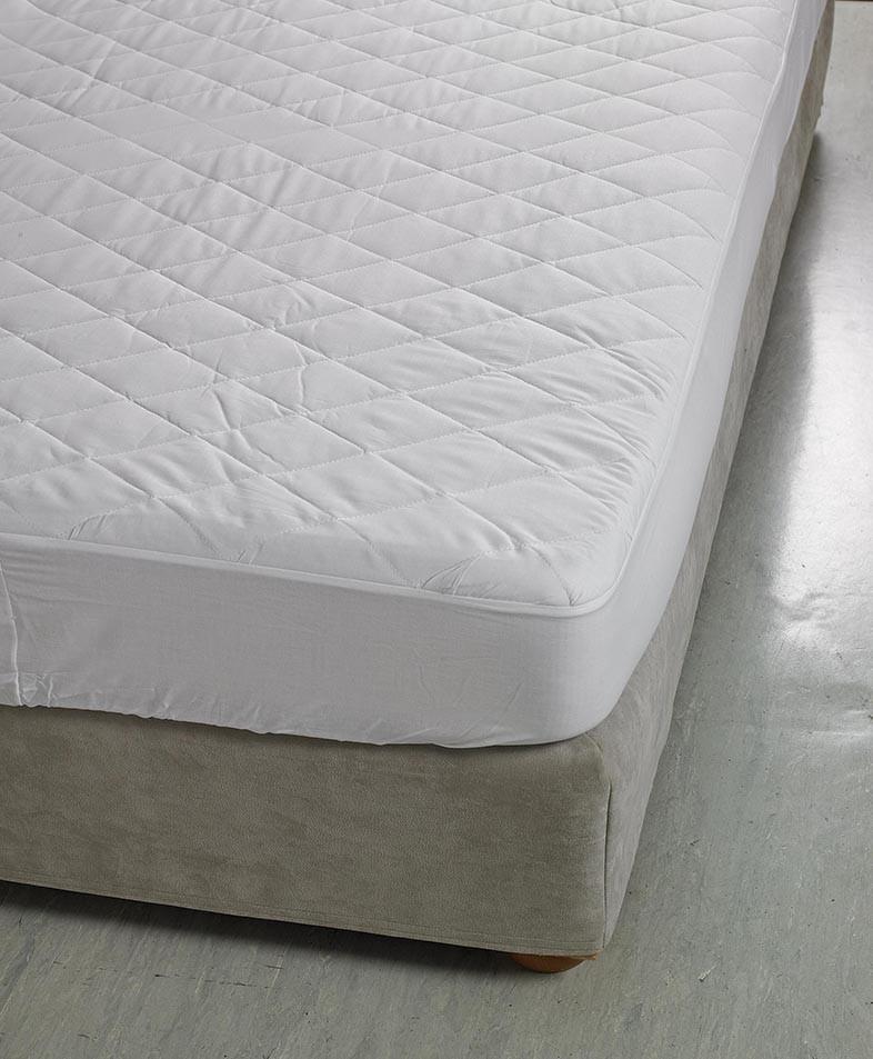 Ζεύγος Καλύμματα Μαξιλαριών Καπιτονέ White Egg home   κρεβατοκάμαρα   επιστρώματα   καλύμματα μαξιλαριών