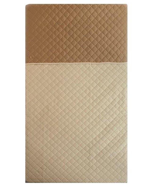 Κουβερλί Υπέρδιπλο Mc Decor Beige/Brown