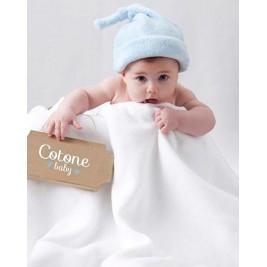 Κουβέρτα Πικέ Αγκαλιάς Manterol Baby Cotone 001 C13