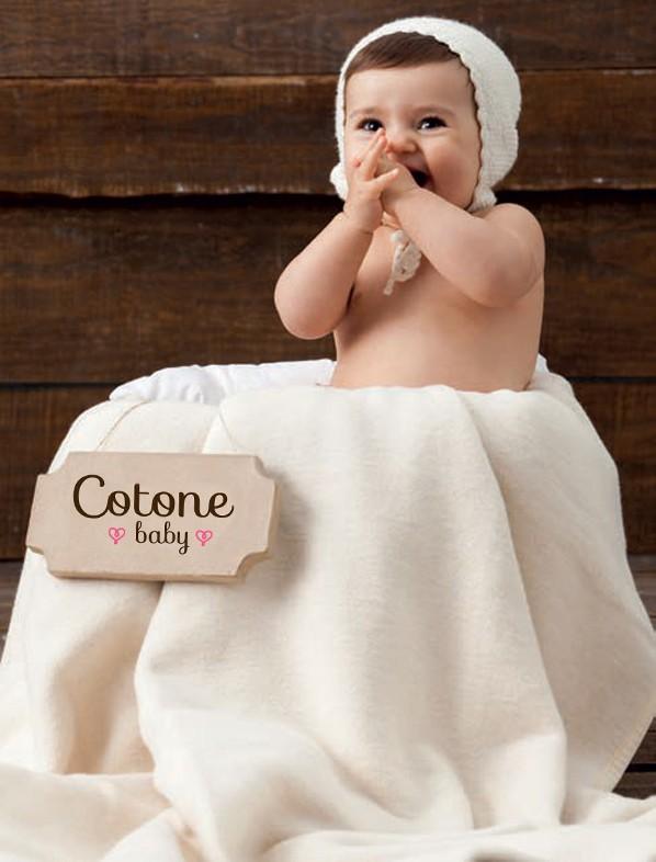 Κουβέρτα Βαμβακερή Κούνιας Manterol Baby Cotone 001 C03 50578