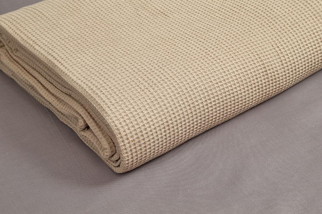 Κουβέρτα Πικέ Υπέρδιπλη Vesta 1052 Beige 50580