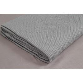 Κουβέρτα Πικέ Μονή Vesta Grey