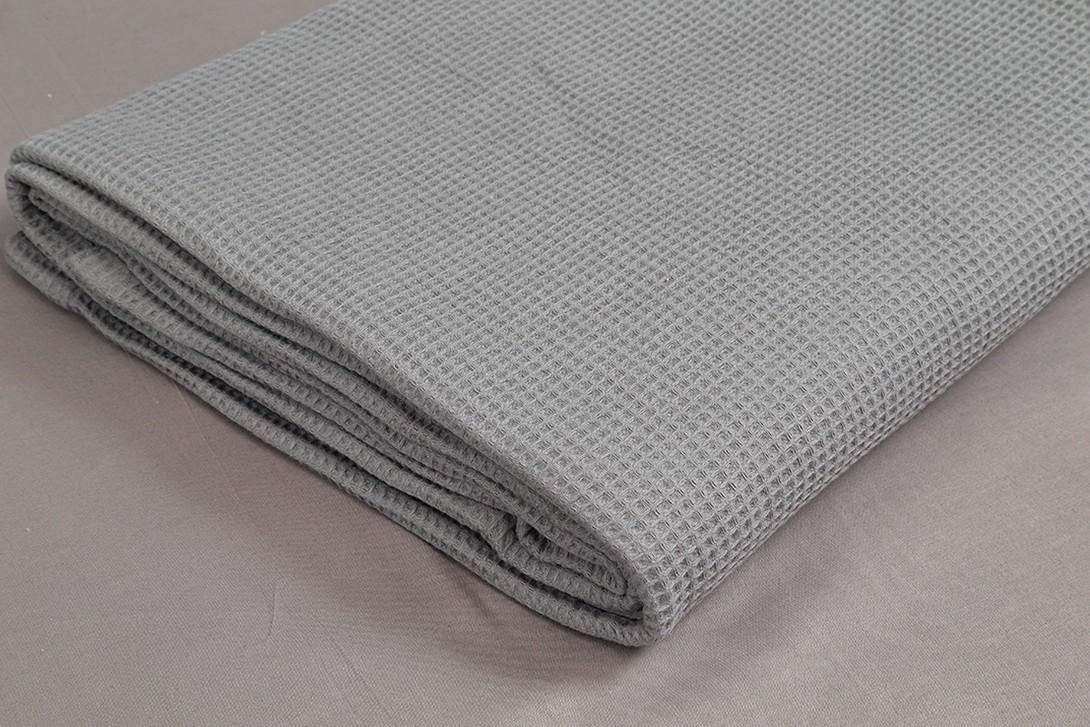 Κουβέρτα Πικέ Μονή Vesta 1052 Grey