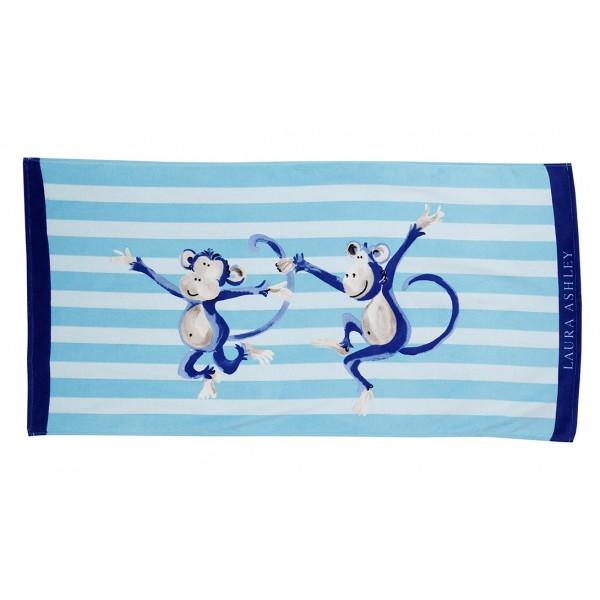 Παιδική Πετσέτα Θαλάσσης Laura Ashley Monkeys