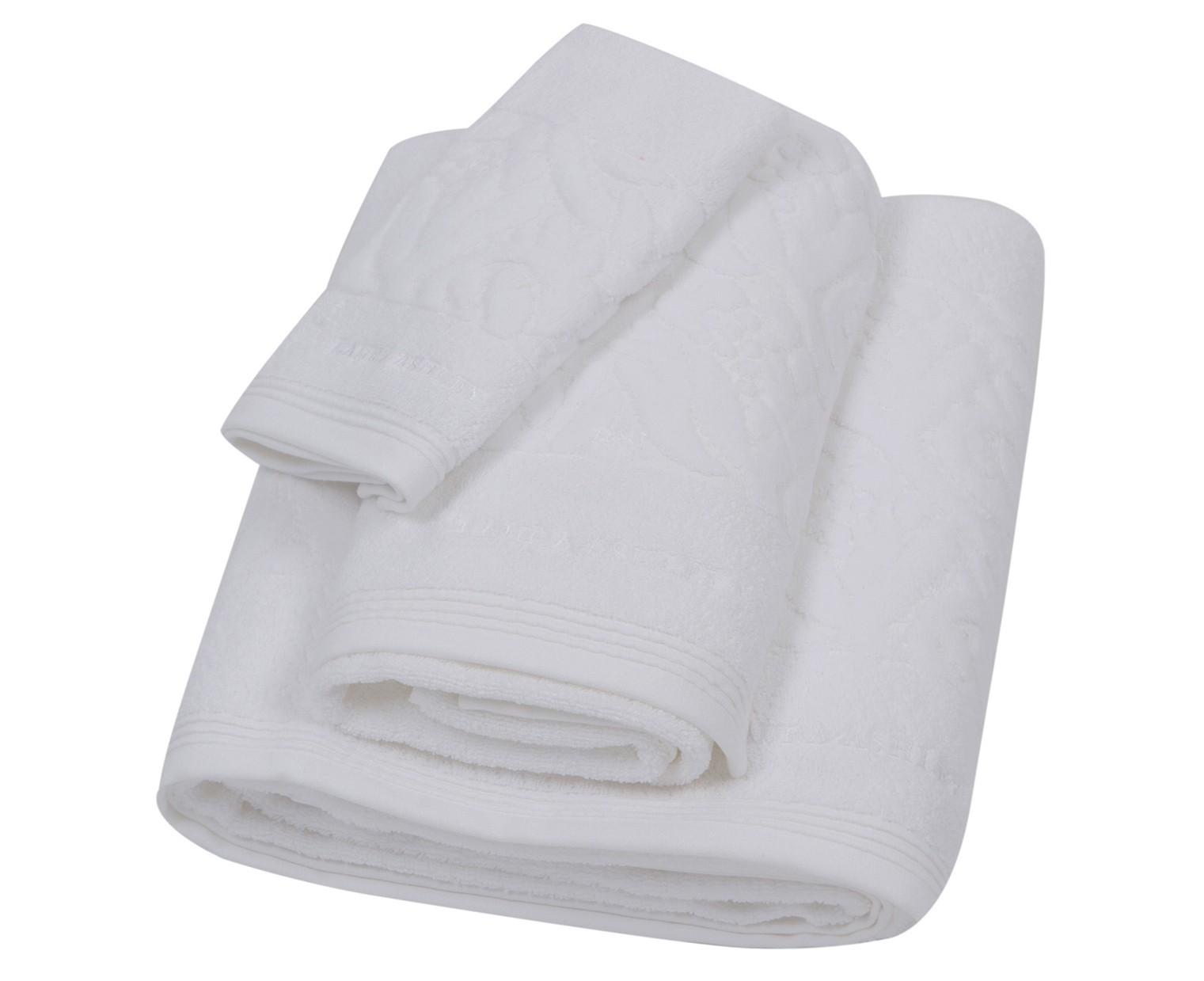 Πετσέτα Χεριών (30x50) Laura Ashley Velvet Tulip White home   μπάνιο   πετσέτες μπάνιου