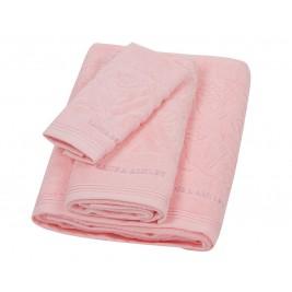 Πετσέτα Προσώπου (50x100) Laura Ashley Velvet Tulip Pink