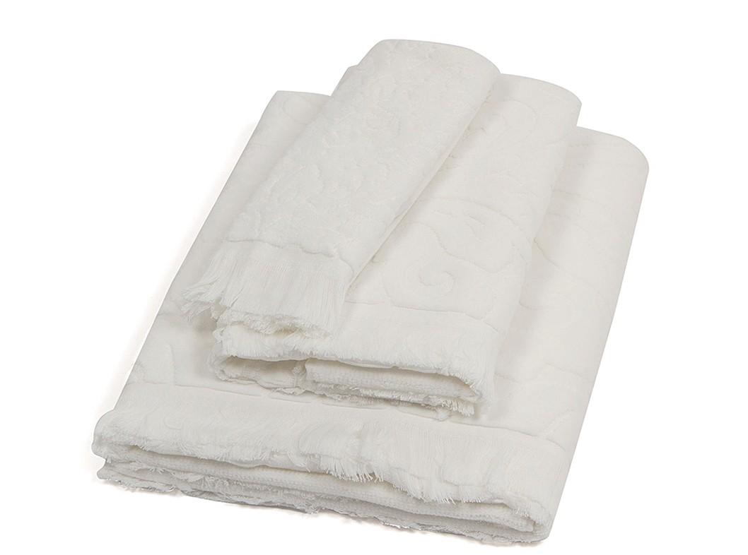 Πετσέτα Σώματος (90x150) Laura Ashley Vittorio Ivory home   μπάνιο   πετσέτες μπάνιου