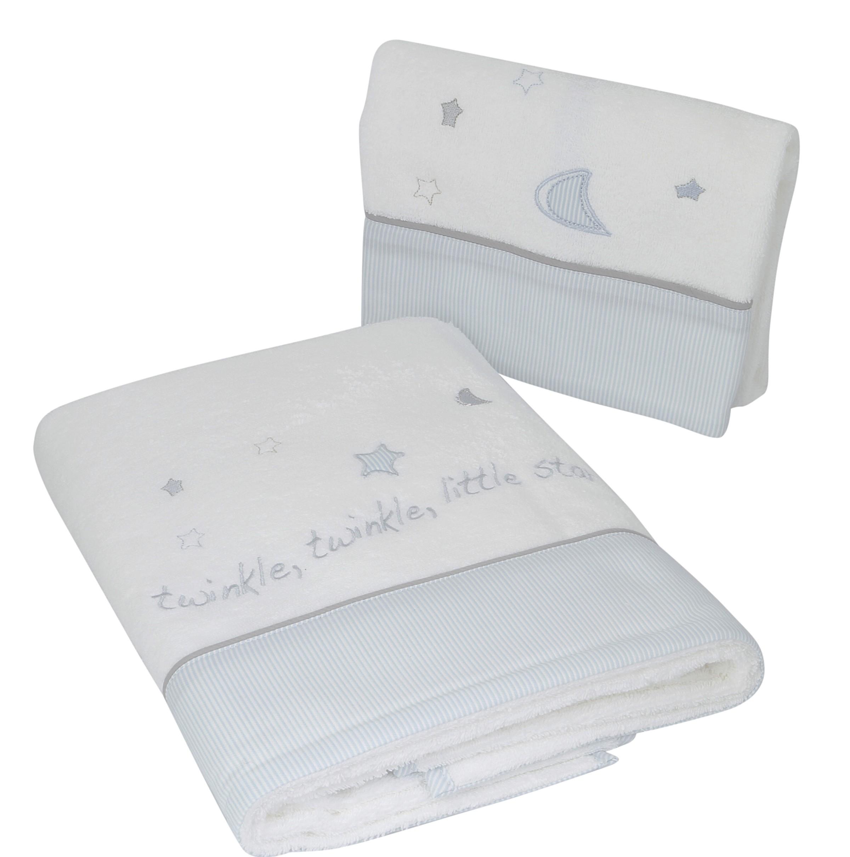 Βρεφικές Πετσέτες (Σετ 2τμχ) Laura Ashley Stars Blue