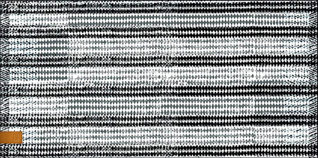 Πετσέτα Θαλάσσης Guy Laroche Velour Printed 9