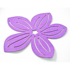 Σουπλά Τσόχινο Για Κατσαρόλες Test Purple
