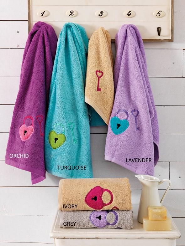 Πετσέτες Μπάνιου (Σετ 3τμχ) Palamaiki Keylock
