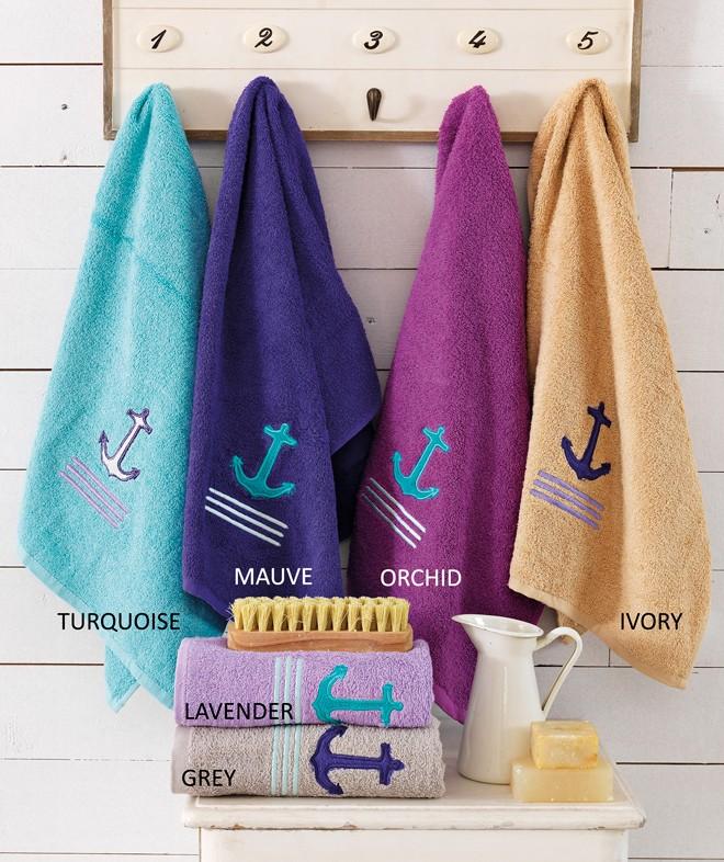 Πετσέτες Μπάνιου (Σετ 3τμχ) Palamaiki Anchor