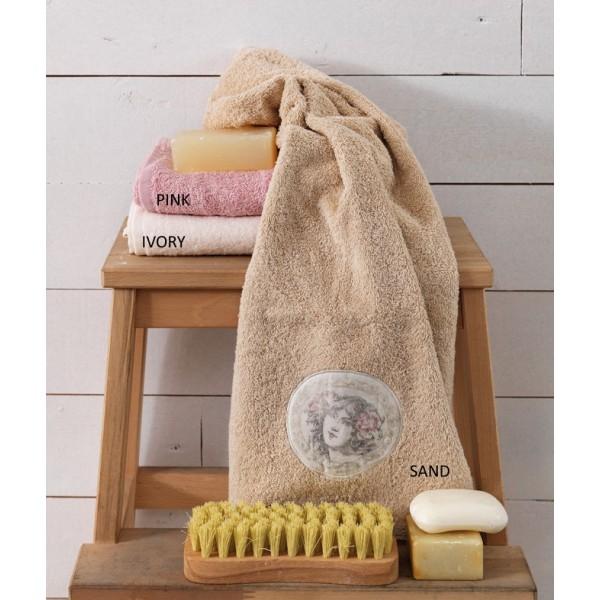 Πετσέτες Μπάνιου (Σετ 3τμχ) Palamaiki Vintage