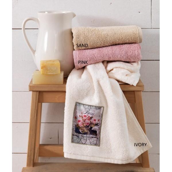 Πετσέτες Μπάνιου (Σετ 3τμχ) Palamaiki Roses