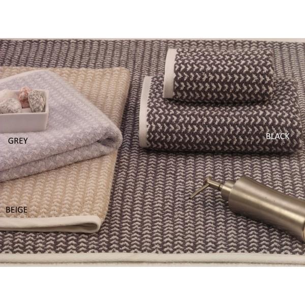 Πετσέτες Μπάνιου (Σετ 3τμχ) Palamaiki Towels 166