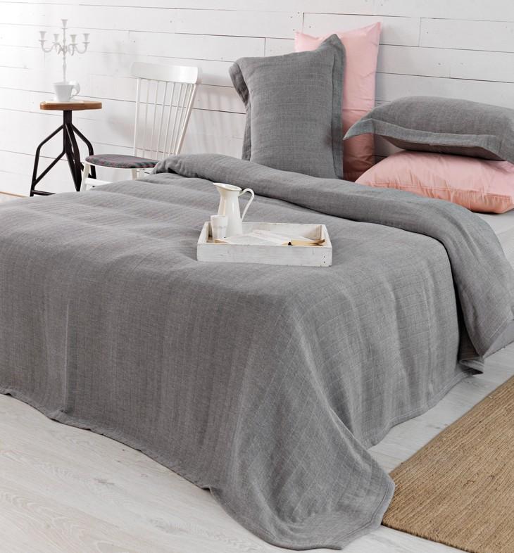 Κουβερτόριο Υπέρδιπλο (Σετ) Palamaiki Classico Blankets Gauzz 51414