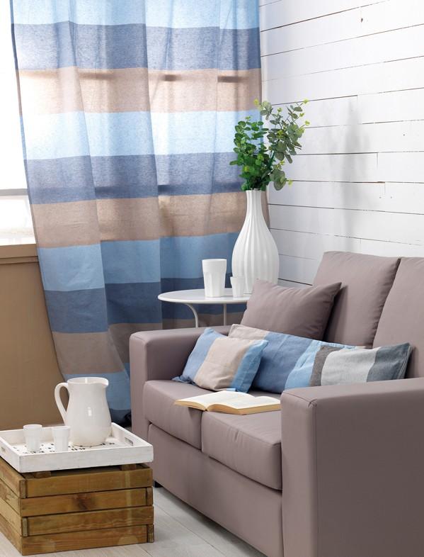 Διακοσμητική Μαξιλαροθήκη (40x40) Palamaiki Fade Blue